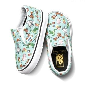 VANS X Disney•Pixar Toy Story  Slip on Shoes